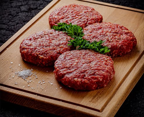 Black angus burger, online, barbecuevlees